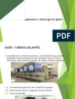 Dieléctricos gaseosos y descarga en gases