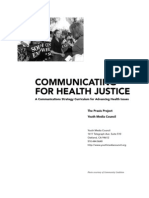 Communicating Health Justice