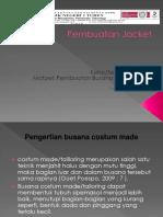 10. Pembuatan Jacket KD 1