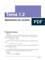 1.2 Operaciones Con Vectores