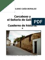 CARCABOSO Y EL SEÑORÍO DE GALISTEO