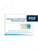 Challenges in High-Performance Embedded Designs FINAL
