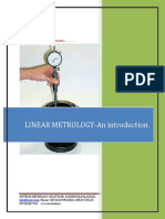 Introduction to Linear metrology