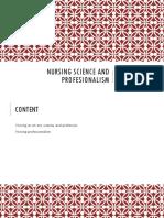 Nursing Science and Profesionalism Suryanto