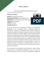 TUTENF010-2016 ARTICOLO CIENTÍFICO
