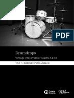 1963 Premier Outfits 54 Drum Kit 3