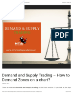 Demand and Supply Trading Zones - The Best Method Forever !
