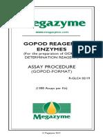 Gopod Reagent Megazymes