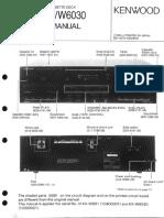 KX-W 891 _ W 6030 Double Cassette Deck Sm
