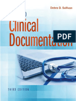 Guide to Clinical Documentation 3rd Edition
