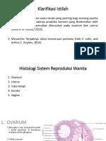 Skenario 2 - klarifikasi istilah menarche & Histologi sistem reproduksi wanita.pptx