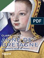 Anne de Bretagne - Claire L'Hoer