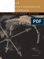 Moore Margaret. National Self-Determination and Secession.pdf