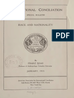Boas Frantz. Race and Nationality