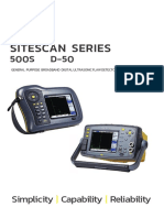 Sitescan D-50 & 500S