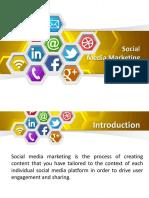 PPT- Social media marketing
