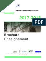 V2brochure Enseignement 2017-2018