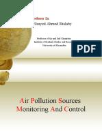المحاضرة كاملة (Air Pollution)