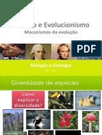 2 - EVOLUCIONISMO E FIXISMO