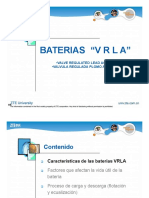 E03 Introducción y mantenimiento de las baterías VRLA (p32)