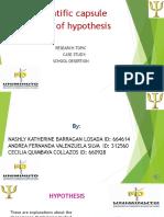 VIDEO HIPOTESIS -CAPSULA EN INGLES