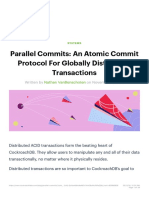 Parallel Commits_ An Atomic Commit Protocol For Globally Distributed Transaction