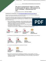 Imprimir _ Materiales para la programación según la LOMCE_ Guías de observación de logros y de Evaluación de Inteligencias múltiples, y Secuenciación de contenidos