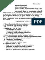 Evaluation Formative2