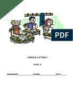 EXAMEN LINGUA LATINA 4ºESO TEMAS I-II