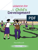 Guidance for Child's Development 1