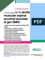 Avances en AME asociada al gen SMN1_2012