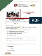 ORIENTACIONES DEL CURSO INGLES IV - 2014 - 1.pdf