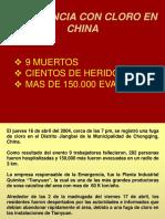 ACCIDENTE DE CLORO EN CHINA
