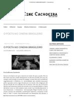 O POETA NO CINEMA BRASILEIRO – CineCachoeira