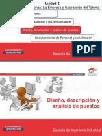 Sesión 7 - Diseño y evaluación de puestos de trabajo