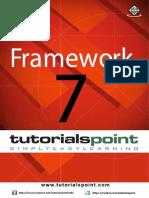 Framework7 Tutorial