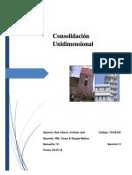Consolidacion Unidimencional