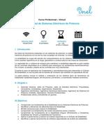 1. Temario_Estabilidad de Sistemas Eléctricos de Potencia