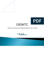 Ontario Interactive Digital Media Tax Credit OIDMTC 003