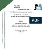 REPORTE ELECTRONICA