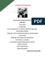 La Mafia in Sicilia Tesina Maturità