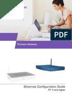 ConfigGuide_Ethernet Thomson Adsl Modem