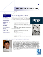 U.S. Re Under 40s Fall 2010 Newsletter
