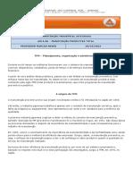 AULA 06 - MANUTENÇÃO PRODUTIVA TOTAL