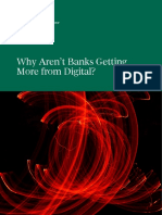 Why Aren't Banks Getting More from Digital? BCG