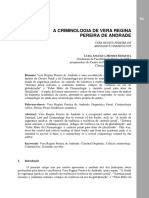 A criminologia de Vera de Andrade