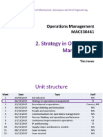 Operations Management MACE30461 2017-18 wk2