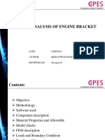 Engine Bracket analysis