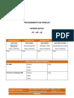 15. PT-OP-05 Interplantas Rev.12