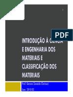 Apostila - ICM - Classificação dos Materiais